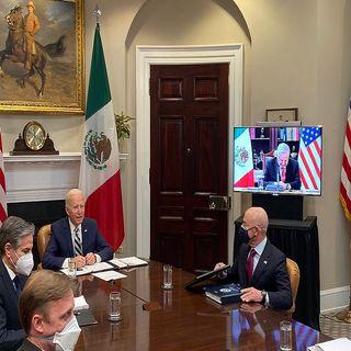 Se reúnen de manera virtual López Obrador y Joe Biden