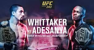 MMA Fight Picks: #UFC243