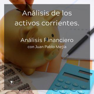 Análisis de los activos corrientes