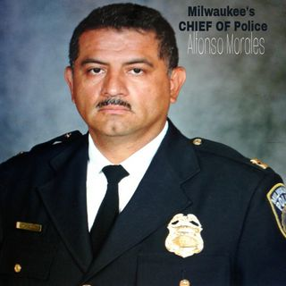 Milwaukee Police Chief Alfonso Morales. 4-27-2018