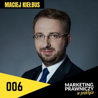 MPP#006 Content marketing w kancelarii – Maciej Kiełbus