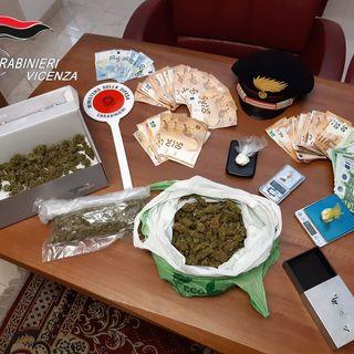 Spaccio di cocaina e marijuana a Breganze: arresto in flagranza per due giovani rumeni