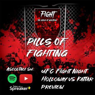 UFC Fight Night: Holloway vs Kattar Preview