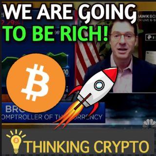 CRYPTO Regulations In 6-8 Weeks & No BITCOIN Ban Says Brian Brooks - XRP BURN & Regulatory Clarity!
