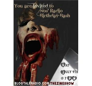 Ax Wound Radio: Nos' Radio Birthday Party Bash!