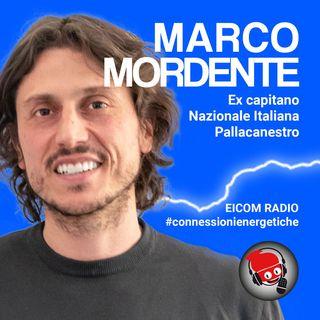 Marco Mordente, ex capitano Nazionale Italiana Pallacanestro