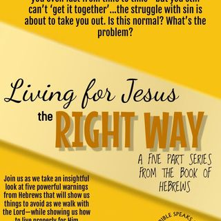 TBS LIVE! 12.25.18 | Living For Jesus The Right Way: Living By Celebrating Him