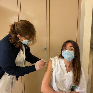 I primi vaccinati nel Lazio