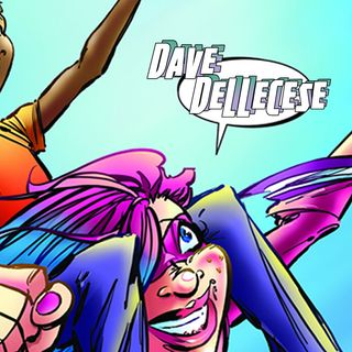 Dave Dellecese on comics, comedy, and the importance of giving the world a hug
