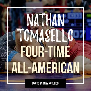 National champion and four-time All-American Nathan Tomasello - OTM551