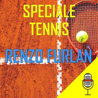 Diretta tennis del 06/07/2020 con Renzo Furlan, ex numero 19 del mondo ed attualmente allenatore di Jasmine Paolini
