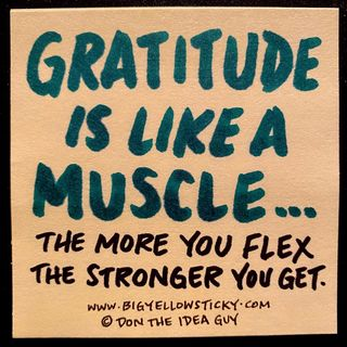 Gratitude Muscle : BYS 329