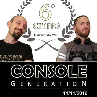 6 anni di CG, PS4 Pro, Robinson the Journey - CG Live 11/11/2016