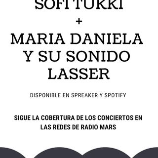 Sofi Tukker + Maria Daniela y su Sonido Lasser