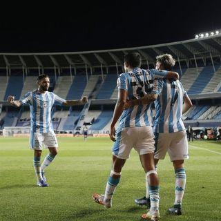 Melgarejo le dio la victoria a Racing, en un chato partido de Copa