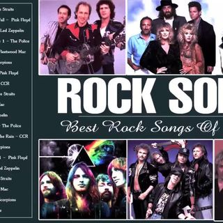 Bon Jovi, Guns N- Roses, Metallica, Scorpions, Pink Floyd Greatest Hits - Classic Rock Songs