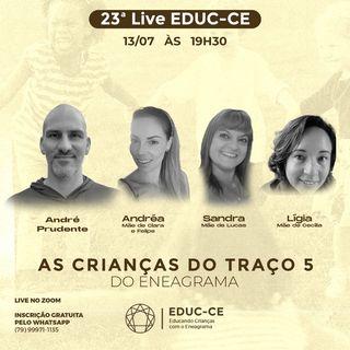 23a Live EDUC-CE: as crianças do traço 5 do eneagrama