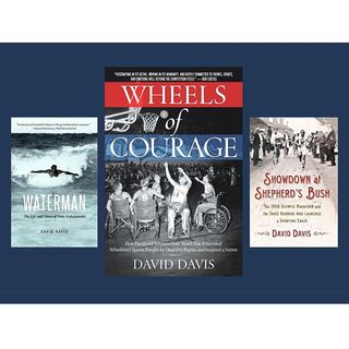 """Books on Sports: Guest Author David Davis talks """"Wheels of Courage"""" : How Paralyzed Veterans from World War II Invented Wheelchair Sports"""