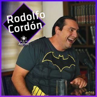 Bacharel em Direito e Comediante  - Rodolfo Cordón - G7 Comédia - AdHoc Podcast #018