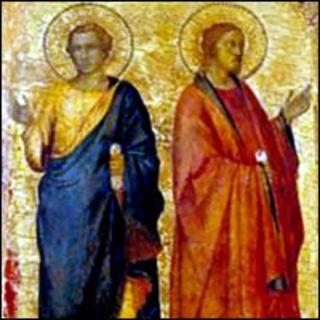 Ponciano (papa) e Hipólito (presbítero). Mártires