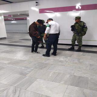 Defienden presencia de la GN en el Metro