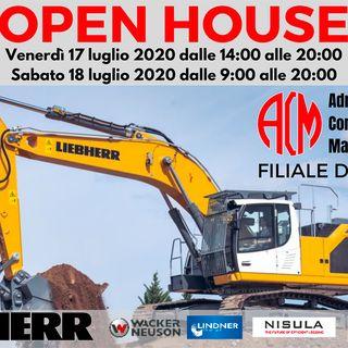 Ascolta il focus sull'Open House di Adriatica Commerciale Macchine (ACM) del 17 e 18 luglio 2020