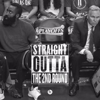 Sports & Swag James Harden & Houston Rockets Straight Outta The 2nd Round Podcast: NBA Playoffs 5/11/17