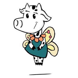 La vaca que se creía mariposa