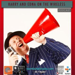 Harry and Edna on the Wireless ~ Greg Poppleton