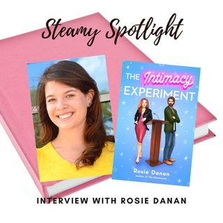 Steamy Spotlight: Interview with Rosie Danan