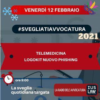 TELEMEDICINA – LOGOKIT NUOVO PHISHING – #SVEGLIATIAVVOCATURA