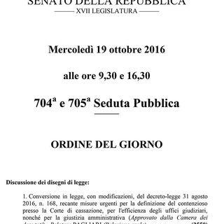 Edizione Straordinaria - DL Giustizia - Aggiornamenti in diretta dal Senato