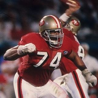 Steve Wallace - former 49ers All-Pro Lineman!