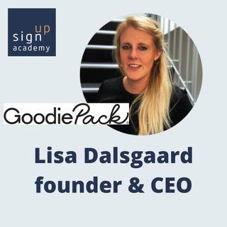 Lisa Dalsgaard fra Goodiepack - om at bruge B2C som genvej til B2B