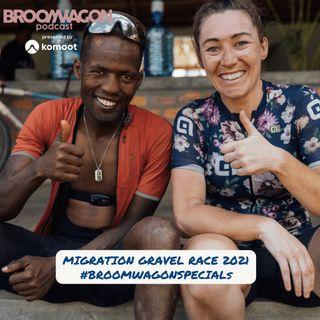 Migration Gravel Race 2021 Mikel Delagrange #BROOMWAGONSPECIALS