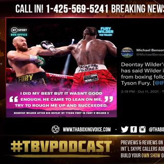 ☎️BREAKING NEWS: Deontay Wilder's Trainer Malik Scott Announces Wilder Will NOT RETIRE After KO Loss