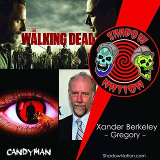 Walking the Hilltop with  Xander Berkeley (Gregory) TWD