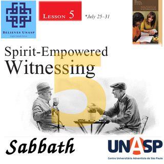 719 - Sabbath School - 25.Jul Sabbath