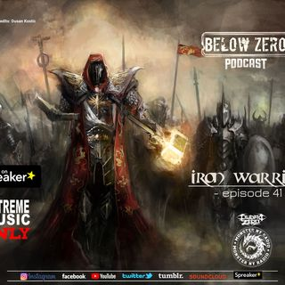BELOW ZERO - IRON WARRIORS