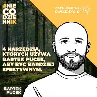 #NIECODZIENNIK-jak być bardziej efektywnym w pracy i w życiu-Bartek Pucek