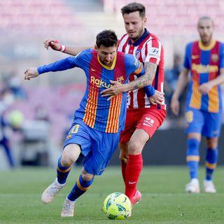Empate entre el Barcelona y el Atlético que complica el titulo de liga