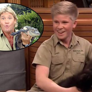 How Steve Irwin dying before his time has Robert Irwin ahead of his time
