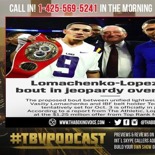 ☎️Vasiliy Lomachenko vs Teofimo Lopez🔥 Unification Falling Apart Over 🤑MONEY😤