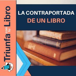 La contraportada de un libro