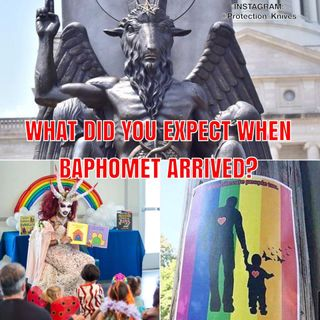 WHAT DID YOU EXPECT WHEN BAPHOMET ARRIVED!?