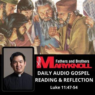 Thursday of the Twenty-eighth Week in Ordinary Time, Luke 11:47-54