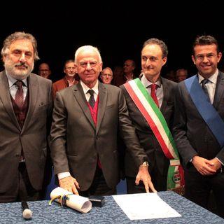 Consegna Premio San Martino 2019 a Umberto Fiabane