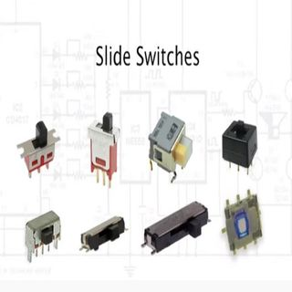 E-Switch Slide Switches