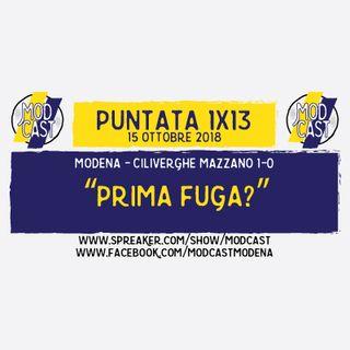 """ModCast - """"Prima fuga?"""" - 1x13"""