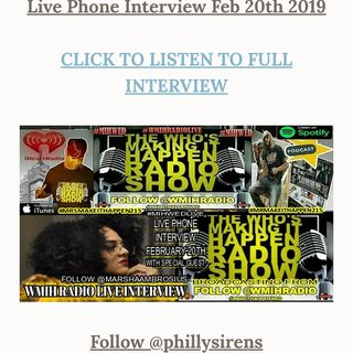 MIH Wed Live Replay w/ Guest Marsha Ambrosius